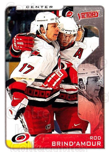 2001-02 UD Victory #60 Rod Brind'Amour<br/>2 In Stock - $1.00 each - <a href=https://centericecollectibles.foxycart.com/cart?name=2001-02%20UD%20Victory%20%2360%20Rod%20Brind'Amour...&quantity_max=2&price=$1.00&code=428768 class=foxycart> Buy it now! </a>