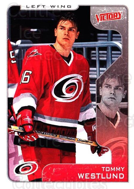 2001-02 UD Victory #69 Tommy Westlund<br/>3 In Stock - $1.00 each - <a href=https://centericecollectibles.foxycart.com/cart?name=2001-02%20UD%20Victory%20%2369%20Tommy%20Westlund...&quantity_max=3&price=$1.00&code=428777 class=foxycart> Buy it now! </a>