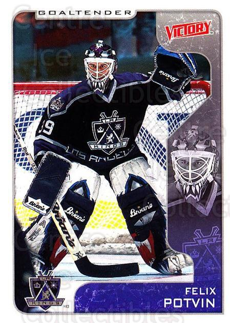 2001-02 UD Victory #167 Felix Potvin<br/>3 In Stock - $1.00 each - <a href=https://centericecollectibles.foxycart.com/cart?name=2001-02%20UD%20Victory%20%23167%20Felix%20Potvin...&quantity_max=3&price=$1.00&code=428875 class=foxycart> Buy it now! </a>