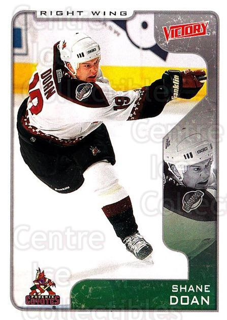 2001-02 UD Victory #266 Shane Doan<br/>5 In Stock - $1.00 each - <a href=https://centericecollectibles.foxycart.com/cart?name=2001-02%20UD%20Victory%20%23266%20Shane%20Doan...&quantity_max=5&price=$1.00&code=428974 class=foxycart> Buy it now! </a>