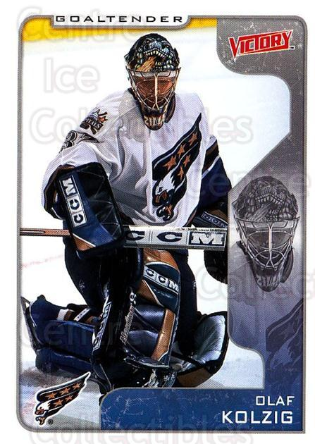 2001-02 UD Victory #355 Olaf Kolzig<br/>2 In Stock - $1.00 each - <a href=https://centericecollectibles.foxycart.com/cart?name=2001-02%20UD%20Victory%20%23355%20Olaf%20Kolzig...&quantity_max=2&price=$1.00&code=429063 class=foxycart> Buy it now! </a>