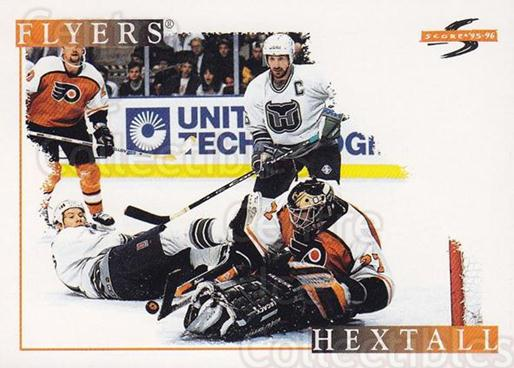 1995-96 Score #195 Ron Hextall<br/>3 In Stock - $1.00 each - <a href=https://centericecollectibles.foxycart.com/cart?name=1995-96%20Score%20%23195%20Ron%20Hextall...&quantity_max=3&price=$1.00&code=42937 class=foxycart> Buy it now! </a>