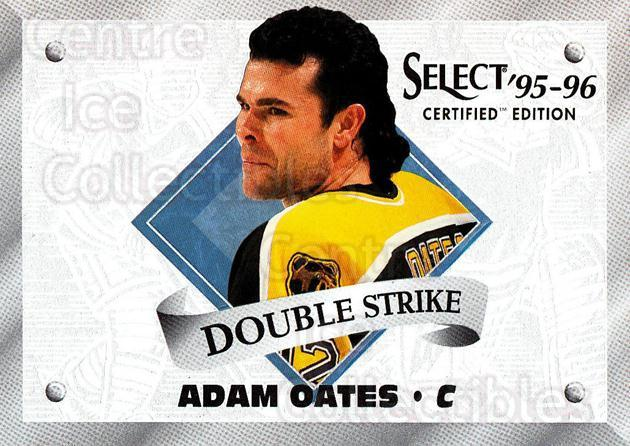 1995-96 Select Certified Double Strike #5 Adam Oates<br/>2 In Stock - $3.00 each - <a href=https://centericecollectibles.foxycart.com/cart?name=1995-96%20Select%20Certified%20Double%20Strike%20%235%20Adam%20Oates...&quantity_max=2&price=$3.00&code=42989 class=foxycart> Buy it now! </a>