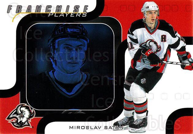 2002-03 BAP Memorabilia Sapphire #204 Miroslav Satan<br/>1 In Stock - $5.00 each - <a href=https://centericecollectibles.foxycart.com/cart?name=2002-03%20BAP%20Memorabilia%20Sapphire%20%23204%20Miroslav%20Satan...&quantity_max=1&price=$5.00&code=430783 class=foxycart> Buy it now! </a>