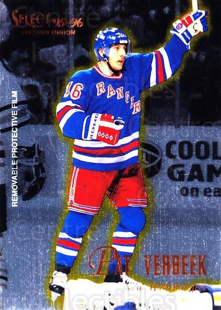 1995-96 Select Certified #108 Pat Verbeek<br/>5 In Stock - $1.00 each - <a href=https://centericecollectibles.foxycart.com/cart?name=1995-96%20Select%20Certified%20%23108%20Pat%20Verbeek...&quantity_max=5&price=$1.00&code=43106 class=foxycart> Buy it now! </a>
