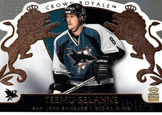 2002-03 Crown Royale #86 Teemu Selanne<br/>1 In Stock - $3.00 each - <a href=https://centericecollectibles.foxycart.com/cart?name=2002-03%20Crown%20Royale%20%2386%20Teemu%20Selanne...&quantity_max=1&price=$3.00&code=431280 class=foxycart> Buy it now! </a>