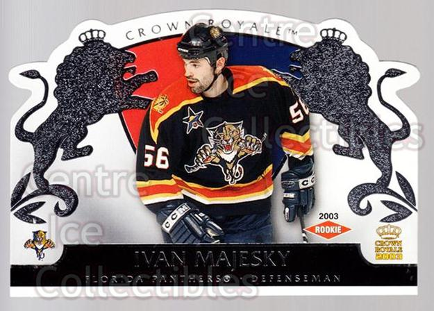 2002-03 Crown Royale Retail #116 Ivan Majesky<br/>1 In Stock - $3.00 each - <a href=https://centericecollectibles.foxycart.com/cart?name=2002-03%20Crown%20Royale%20Retail%20%23116%20Ivan%20Majesky...&quantity_max=1&price=$3.00&code=431300 class=foxycart> Buy it now! </a>