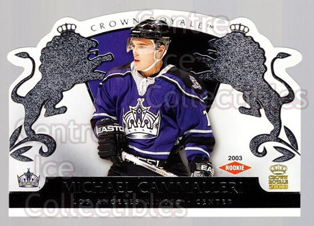 2002-03 Crown Royale Retail #117 Mike Cammalleri<br/>1 In Stock - $3.00 each - <a href=https://centericecollectibles.foxycart.com/cart?name=2002-03%20Crown%20Royale%20Retail%20%23117%20Mike%20Cammalleri...&quantity_max=1&price=$3.00&code=431301 class=foxycart> Buy it now! </a>
