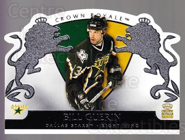 2002-03 Crown Royale Retail #29 Bill Guerin<br/>3 In Stock - $1.00 each - <a href=https://centericecollectibles.foxycart.com/cart?name=2002-03%20Crown%20Royale%20Retail%20%2329%20Bill%20Guerin...&quantity_max=3&price=$1.00&code=431339 class=foxycart> Buy it now! </a>
