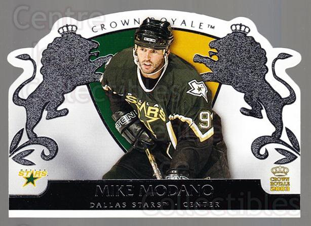 2002-03 Crown Royale Retail #30 Mike Modano<br/>3 In Stock - $2.00 each - <a href=https://centericecollectibles.foxycart.com/cart?name=2002-03%20Crown%20Royale%20Retail%20%2330%20Mike%20Modano...&quantity_max=3&price=$2.00&code=431341 class=foxycart> Buy it now! </a>