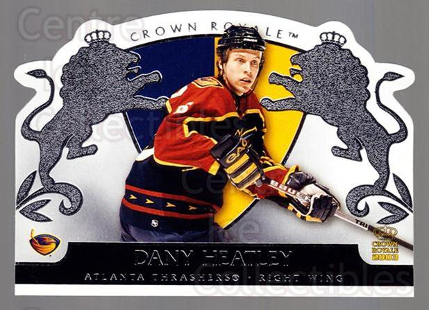 2002-03 Crown Royale Retail #4 Dany Heatley<br/>3 In Stock - $1.00 each - <a href=https://centericecollectibles.foxycart.com/cart?name=2002-03%20Crown%20Royale%20Retail%20%234%20Dany%20Heatley...&quantity_max=3&price=$1.00&code=431347 class=foxycart> Buy it now! </a>