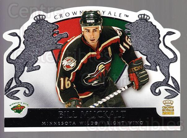 2002-03 Crown Royale Retail #49 Bill Muckalt<br/>3 In Stock - $1.00 each - <a href=https://centericecollectibles.foxycart.com/cart?name=2002-03%20Crown%20Royale%20Retail%20%2349%20Bill%20Muckalt...&quantity_max=3&price=$1.00&code=431357 class=foxycart> Buy it now! </a>