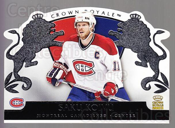 2002-03 Crown Royale Retail #51 Saku Koivu<br/>2 In Stock - $2.00 each - <a href=https://centericecollectibles.foxycart.com/cart?name=2002-03%20Crown%20Royale%20Retail%20%2351%20Saku%20Koivu...&quantity_max=2&price=$2.00&code=431360 class=foxycart> Buy it now! </a>