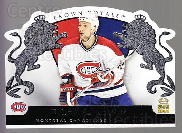 2002-03 Crown Royale Retail #53 Richard Zednik<br/>2 In Stock - $1.00 each - <a href=https://centericecollectibles.foxycart.com/cart?name=2002-03%20Crown%20Royale%20Retail%20%2353%20Richard%20Zednik...&quantity_max=2&price=$1.00&code=431362 class=foxycart> Buy it now! </a>