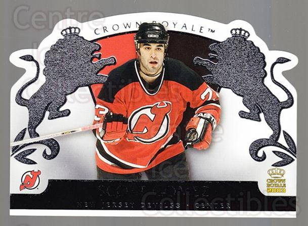 2002-03 Crown Royale Retail #58 Scott Gomez<br/>3 In Stock - $1.00 each - <a href=https://centericecollectibles.foxycart.com/cart?name=2002-03%20Crown%20Royale%20Retail%20%2358%20Scott%20Gomez...&quantity_max=3&price=$1.00&code=431366 class=foxycart> Buy it now! </a>