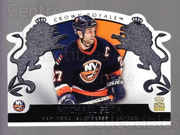 2002-03 Crown Royale Retail #61 Mike Peca<br/>3 In Stock - $1.00 each - <a href=https://centericecollectibles.foxycart.com/cart?name=2002-03%20Crown%20Royale%20Retail%20%2361%20Mike%20Peca...&quantity_max=3&price=$1.00&code=431370 class=foxycart> Buy it now! </a>