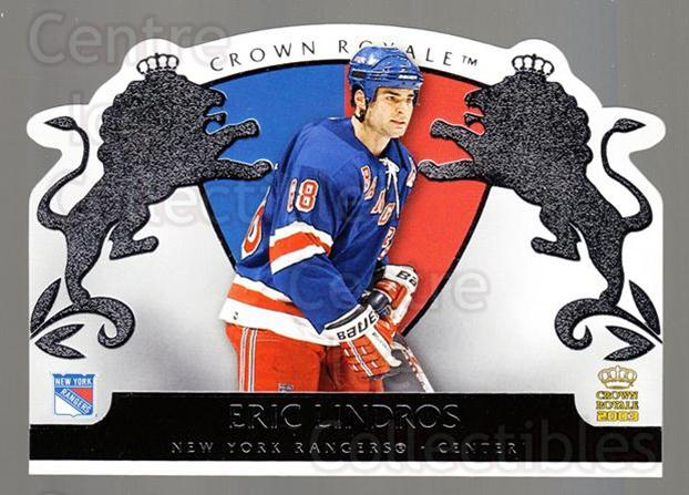 2002-03 Crown Royale Retail #64 Eric Lindros<br/>1 In Stock - $2.00 each - <a href=https://centericecollectibles.foxycart.com/cart?name=2002-03%20Crown%20Royale%20Retail%20%2364%20Eric%20Lindros...&quantity_max=1&price=$2.00&code=431372 class=foxycart> Buy it now! </a>