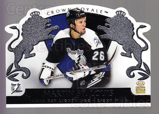 2002-03 Crown Royale Retail #89 Martin St. Louis<br/>3 In Stock - $1.00 each - <a href=https://centericecollectibles.foxycart.com/cart?name=2002-03%20Crown%20Royale%20Retail%20%2389%20Martin%20St.%20Loui...&quantity_max=3&price=$1.00&code=431397 class=foxycart> Buy it now! </a>