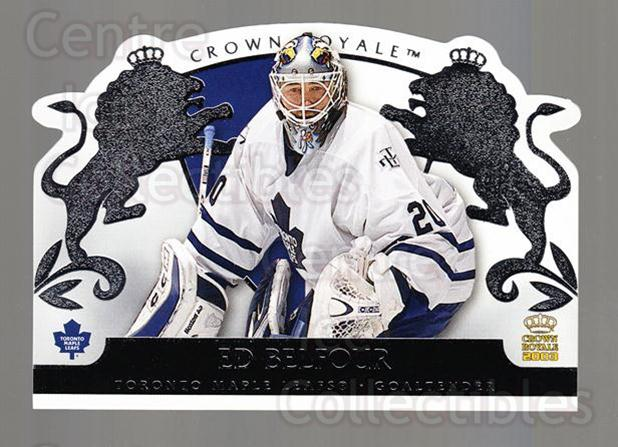 2002-03 Crown Royale Retail #90 Ed Belfour<br/>1 In Stock - $1.00 each - <a href=https://centericecollectibles.foxycart.com/cart?name=2002-03%20Crown%20Royale%20Retail%20%2390%20Ed%20Belfour...&quantity_max=1&price=$1.00&code=431399 class=foxycart> Buy it now! </a>
