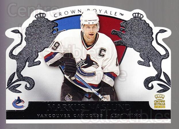 2002-03 Crown Royale Retail #97 Markus Naslund<br/>3 In Stock - $1.00 each - <a href=https://centericecollectibles.foxycart.com/cart?name=2002-03%20Crown%20Royale%20Retail%20%2397%20Markus%20Naslund...&quantity_max=3&price=$1.00&code=431406 class=foxycart> Buy it now! </a>
