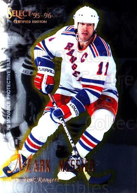 1995-96 Select Certified #14 Mark Messier<br/>4 In Stock - $1.00 each - <a href=https://centericecollectibles.foxycart.com/cart?name=1995-96%20Select%20Certified%20%2314%20Mark%20Messier...&quantity_max=4&price=$1.00&code=43140 class=foxycart> Buy it now! </a>