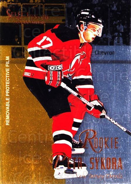 1995-96 Select Certified #144 Petr Sykora<br/>2 In Stock - $1.00 each - <a href=https://centericecollectibles.foxycart.com/cart?name=1995-96%20Select%20Certified%20%23144%20Petr%20Sykora...&quantity_max=2&price=$1.00&code=43145 class=foxycart> Buy it now! </a>