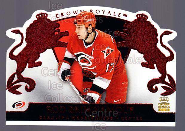2002-03 Crown Royale Red #16 Rod Brind'Amour<br/>2 In Stock - $3.00 each - <a href=https://centericecollectibles.foxycart.com/cart?name=2002-03%20Crown%20Royale%20Red%20%2316%20Rod%20Brind'Amour...&quantity_max=2&price=$3.00&code=431468 class=foxycart> Buy it now! </a>