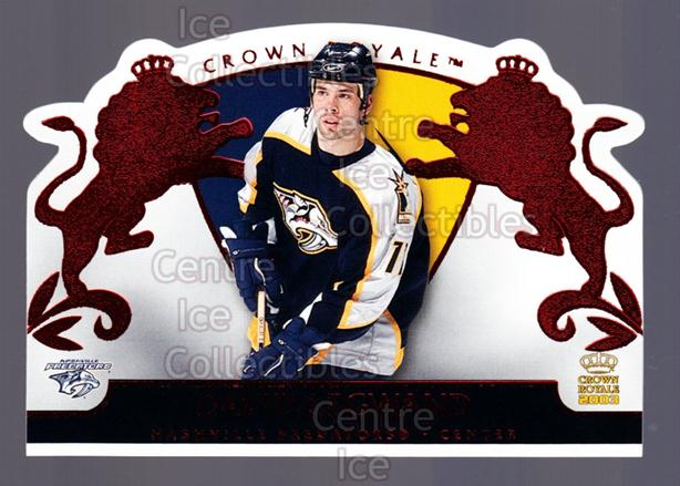 2002-03 Crown Royale Red #54 David Legwand<br/>2 In Stock - $3.00 each - <a href=https://centericecollectibles.foxycart.com/cart?name=2002-03%20Crown%20Royale%20Red%20%2354%20David%20Legwand...&quantity_max=2&price=$3.00&code=431503 class=foxycart> Buy it now! </a>