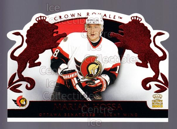 2002-03 Crown Royale Red #67 Marian Hossa<br/>2 In Stock - $3.00 each - <a href=https://centericecollectibles.foxycart.com/cart?name=2002-03%20Crown%20Royale%20Red%20%2367%20Marian%20Hossa...&quantity_max=2&price=$3.00&code=431515 class=foxycart> Buy it now! </a>