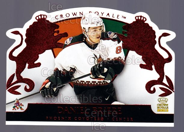2002-03 Crown Royale Red #74 Daniel Briere<br/>2 In Stock - $3.00 each - <a href=https://centericecollectibles.foxycart.com/cart?name=2002-03%20Crown%20Royale%20Red%20%2374%20Daniel%20Briere...&quantity_max=2&price=$3.00&code=431523 class=foxycart> Buy it now! </a>
