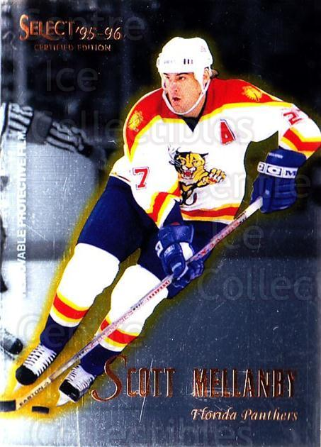 1995-96 Select Certified #3 Scott Mellanby<br/>5 In Stock - $1.00 each - <a href=https://centericecollectibles.foxycart.com/cart?name=1995-96%20Select%20Certified%20%233%20Scott%20Mellanby...&quantity_max=5&price=$1.00&code=43158 class=foxycart> Buy it now! </a>