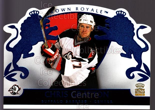 2002-03 Crown Royale Blue #11 Chris Gratton<br/>2 In Stock - $3.00 each - <a href=https://centericecollectibles.foxycart.com/cart?name=2002-03%20Crown%20Royale%20Blue%20%2311%20Chris%20Gratton...&quantity_max=2&price=$3.00&code=431629 class=foxycart> Buy it now! </a>