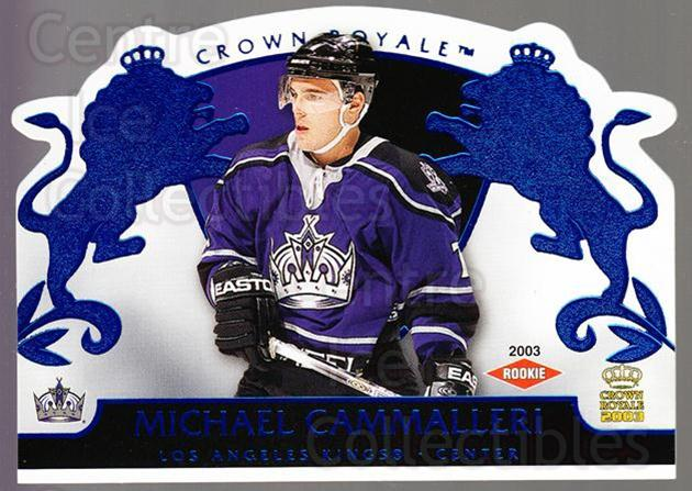 2002-03 Crown Royale Blue #117 Mike Cammalleri<br/>1 In Stock - $5.00 each - <a href=https://centericecollectibles.foxycart.com/cart?name=2002-03%20Crown%20Royale%20Blue%20%23117%20Mike%20Cammalleri...&quantity_max=1&price=$5.00&code=431636 class=foxycart> Buy it now! </a>