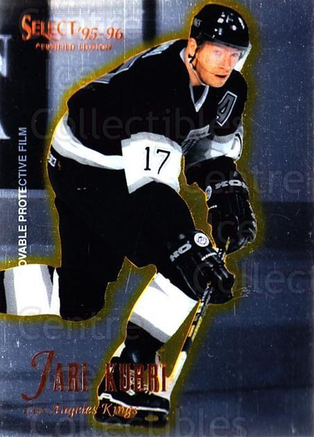 1995-96 Select Certified #35 Jari Kurri<br/>5 In Stock - $1.00 each - <a href=https://centericecollectibles.foxycart.com/cart?name=1995-96%20Select%20Certified%20%2335%20Jari%20Kurri...&quantity_max=5&price=$1.00&code=43164 class=foxycart> Buy it now! </a>