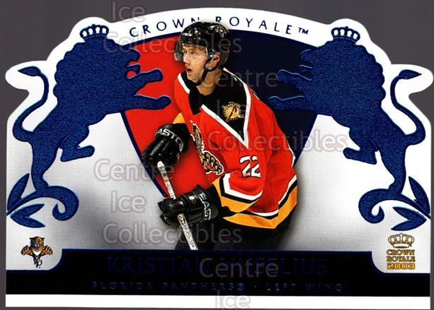 2002-03 Crown Royale Blue #42 Kristian Huselius<br/>2 In Stock - $3.00 each - <a href=https://centericecollectibles.foxycart.com/cart?name=2002-03%20Crown%20Royale%20Blue%20%2342%20Kristian%20Huseli...&quantity_max=2&price=$3.00&code=431685 class=foxycart> Buy it now! </a>