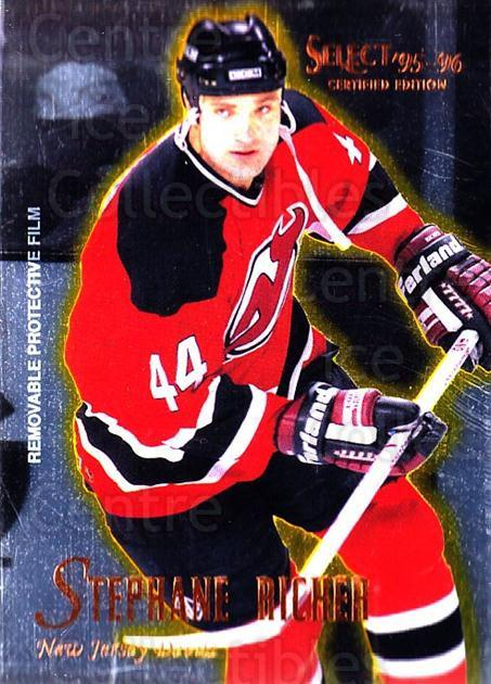1995-96 Select Certified #39 Stephane Richer<br/>5 In Stock - $1.00 each - <a href=https://centericecollectibles.foxycart.com/cart?name=1995-96%20Select%20Certified%20%2339%20Stephane%20Richer...&quantity_max=5&price=$1.00&code=43168 class=foxycart> Buy it now! </a>