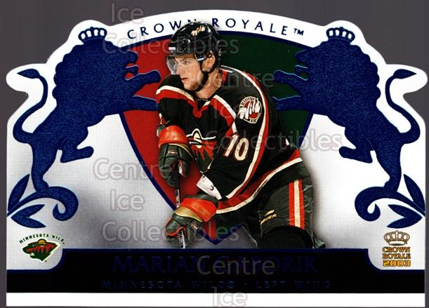 2002-03 Crown Royale Blue #48 Marian Gaborik<br/>2 In Stock - $3.00 each - <a href=https://centericecollectibles.foxycart.com/cart?name=2002-03%20Crown%20Royale%20Blue%20%2348%20Marian%20Gaborik...&quantity_max=2&price=$3.00&code=431691 class=foxycart> Buy it now! </a>