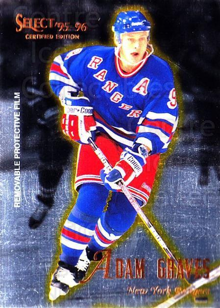 1995-96 Select Certified #47 Adam Graves<br/>5 In Stock - $1.00 each - <a href=https://centericecollectibles.foxycart.com/cart?name=1995-96%20Select%20Certified%20%2347%20Adam%20Graves...&quantity_max=5&price=$1.00&code=43175 class=foxycart> Buy it now! </a>