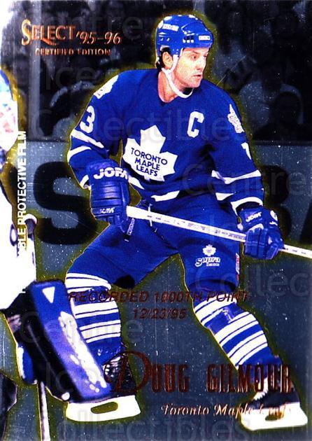 1995-96 Select Certified #48 Doug Gilmour<br/>3 In Stock - $1.00 each - <a href=https://centericecollectibles.foxycart.com/cart?name=1995-96%20Select%20Certified%20%2348%20Doug%20Gilmour...&quantity_max=3&price=$1.00&code=43176 class=foxycart> Buy it now! </a>