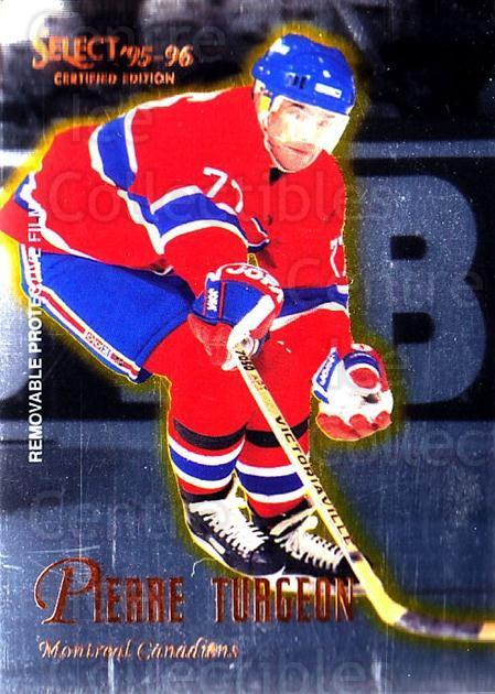 1995-96 Select Certified #49 Pierre Turgeon<br/>5 In Stock - $1.00 each - <a href=https://centericecollectibles.foxycart.com/cart?name=1995-96%20Select%20Certified%20%2349%20Pierre%20Turgeon...&quantity_max=5&price=$1.00&code=43177 class=foxycart> Buy it now! </a>