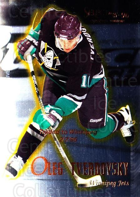 1995-96 Select Certified #79 Oleg Tverdovsky<br/>5 In Stock - $1.00 each - <a href=https://centericecollectibles.foxycart.com/cart?name=1995-96%20Select%20Certified%20%2379%20Oleg%20Tverdovsky...&quantity_max=5&price=$1.00&code=43207 class=foxycart> Buy it now! </a>
