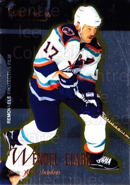 1995-96 Select Certified #82 Wendel Clark<br/>5 In Stock - $1.00 each - <a href=https://centericecollectibles.foxycart.com/cart?name=1995-96%20Select%20Certified%20%2382%20Wendel%20Clark...&quantity_max=5&price=$1.00&code=43210 class=foxycart> Buy it now! </a>