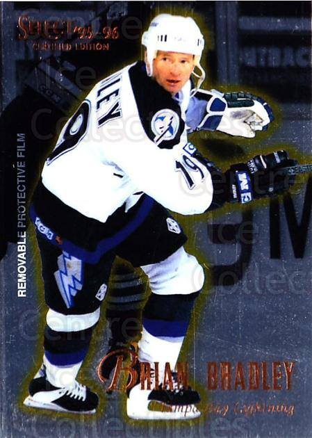1995-96 Select Certified #83 Brian Bradley<br/>5 In Stock - $1.00 each - <a href=https://centericecollectibles.foxycart.com/cart?name=1995-96%20Select%20Certified%20%2383%20Brian%20Bradley...&quantity_max=5&price=$1.00&code=43211 class=foxycart> Buy it now! </a>