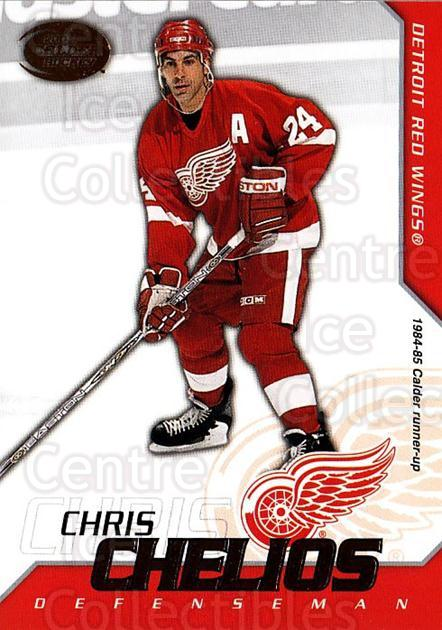 2002-03 Pacific Calder #28 Chris Chelios<br/>6 In Stock - $1.00 each - <a href=https://centericecollectibles.foxycart.com/cart?name=2002-03%20Pacific%20Calder%20%2328%20Chris%20Chelios...&quantity_max=6&price=$1.00&code=432338 class=foxycart> Buy it now! </a>