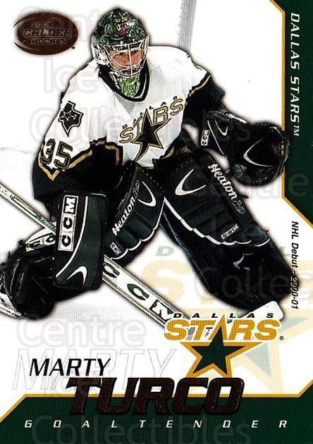 2002-03 Pacific Calder #36 Marty Turco<br/>7 In Stock - $1.00 each - <a href=https://centericecollectibles.foxycart.com/cart?name=2002-03%20Pacific%20Calder%20%2336%20Marty%20Turco...&quantity_max=7&price=$1.00&code=432339 class=foxycart> Buy it now! </a>