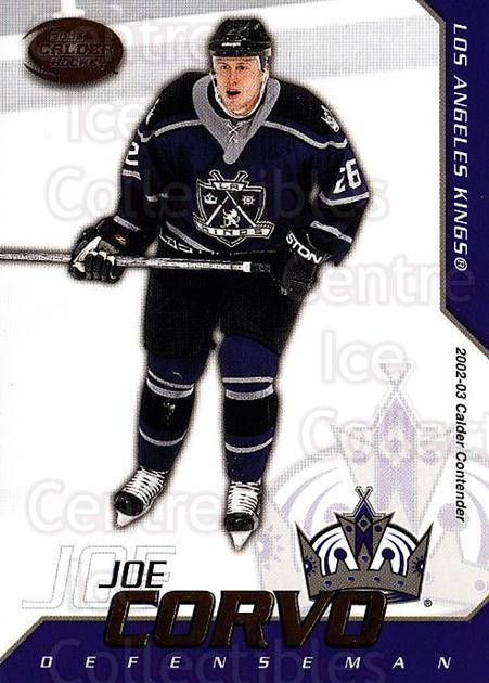 2002-03 Pacific Calder #73 Joe Corvo<br/>6 In Stock - $1.00 each - <a href=https://centericecollectibles.foxycart.com/cart?name=2002-03%20Pacific%20Calder%20%2373%20Joe%20Corvo...&quantity_max=6&price=$1.00&code=432343 class=foxycart> Buy it now! </a>