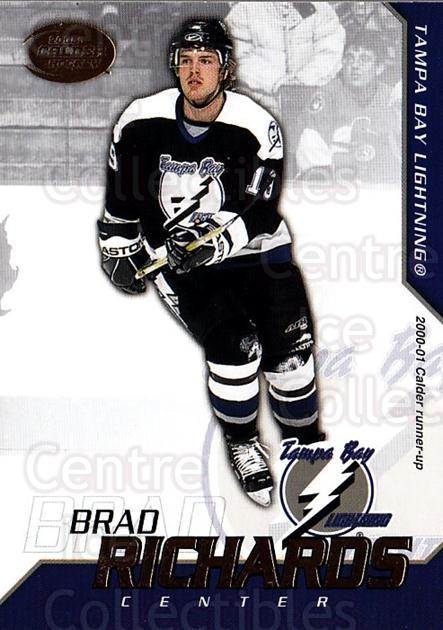 2002-03 Pacific Calder #4 Brad Richards<br/>5 In Stock - $1.00 each - <a href=https://centericecollectibles.foxycart.com/cart?name=2002-03%20Pacific%20Calder%20%234%20Brad%20Richards...&quantity_max=5&price=$1.00&code=432350 class=foxycart> Buy it now! </a>