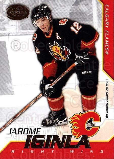 2002-03 Pacific Calder #12 Jarome Iginla<br/>8 In Stock - $1.00 each - <a href=https://centericecollectibles.foxycart.com/cart?name=2002-03%20Pacific%20Calder%20%2312%20Jarome%20Iginla...&quantity_max=8&price=$1.00&code=432355 class=foxycart> Buy it now! </a>