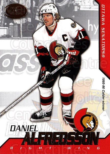 2002-03 Pacific Calder #13 Daniel Alfredsson<br/>7 In Stock - $1.00 each - <a href=https://centericecollectibles.foxycart.com/cart?name=2002-03%20Pacific%20Calder%20%2313%20Daniel%20Alfredss...&quantity_max=7&price=$1.00&code=432356 class=foxycart> Buy it now! </a>