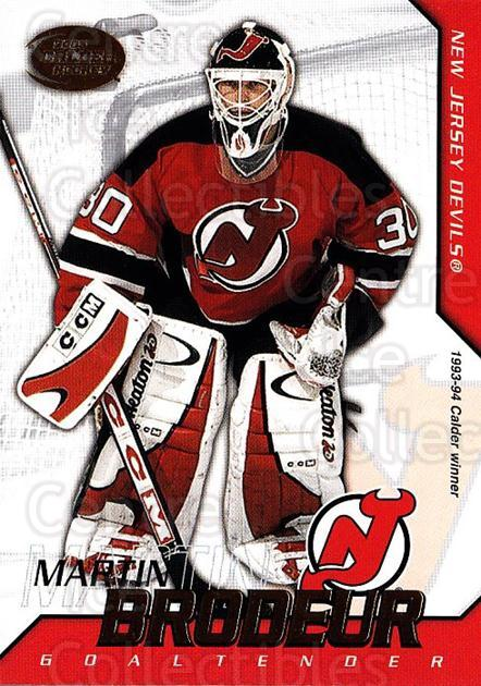 2002-03 Pacific Calder #16 Martin Brodeur<br/>2 In Stock - $3.00 each - <a href=https://centericecollectibles.foxycart.com/cart?name=2002-03%20Pacific%20Calder%20%2316%20Martin%20Brodeur...&quantity_max=2&price=$3.00&code=432358 class=foxycart> Buy it now! </a>
